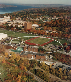 CESR On The Campus Of Cornell University In Ithaca, New York.