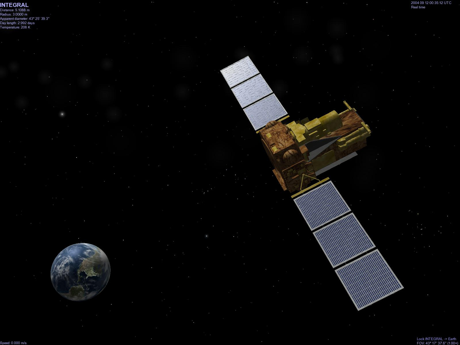Kerberos Moon Of Plluto: Selden's List Of Spacecraft Orbits For Celestia