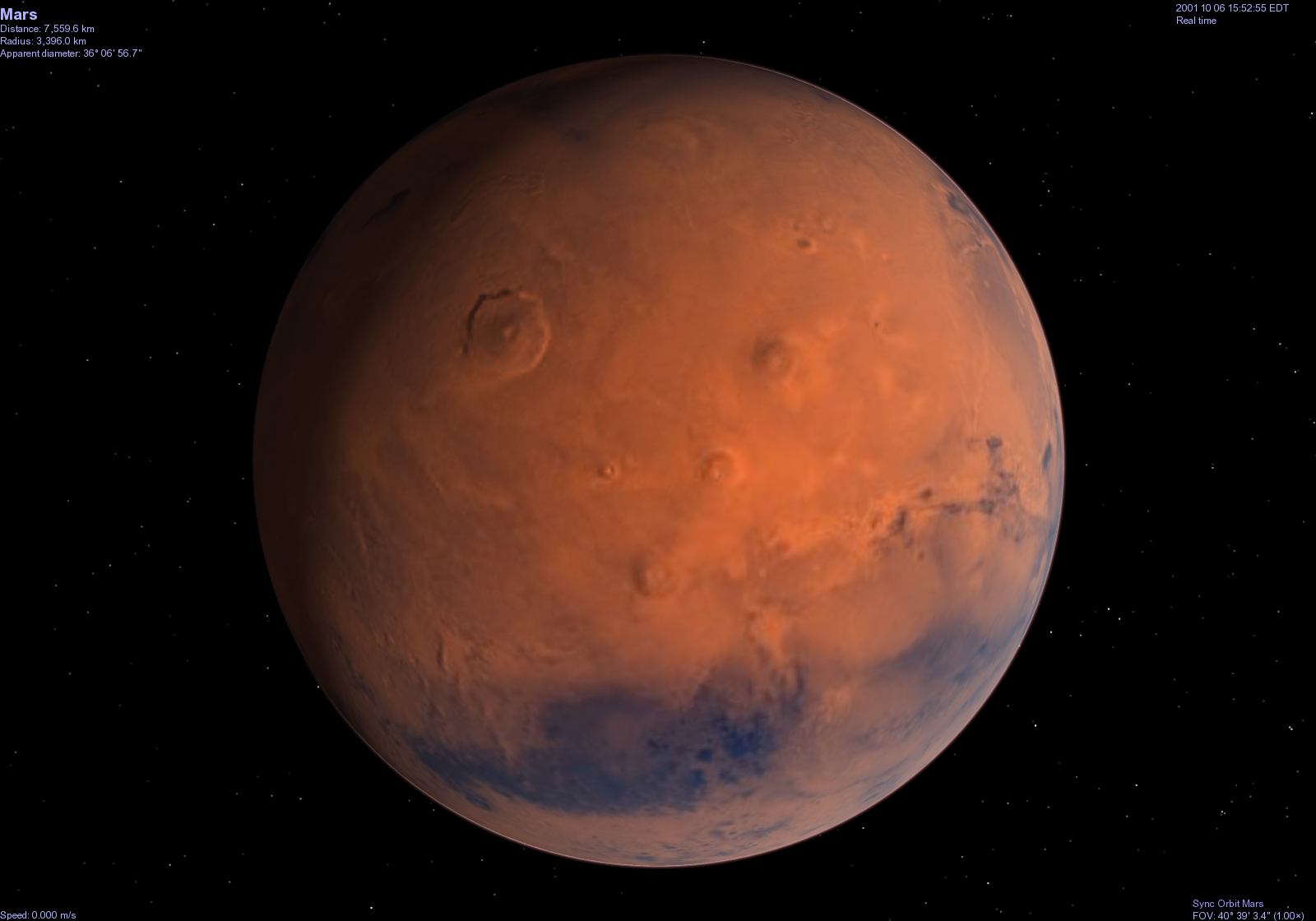 color of mars planet - photo #14