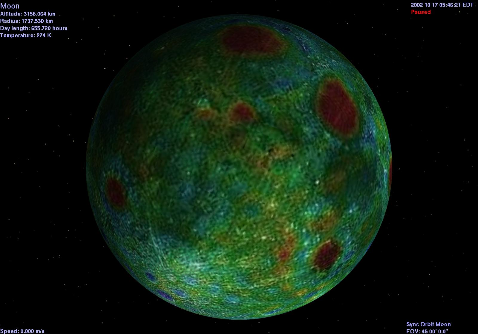 lunar gravity in space - photo #23